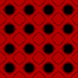 Hot Lava Seamless Geometric Background. Red hot lava with geometric dark holes background seamless pattern Royalty Free Stock Photo