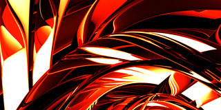 Red hot metal Stock Photography