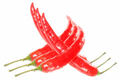Red hot peppers Royalty Free Stock Photography