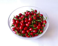 Red hot peppers Royalty Free Stock Image