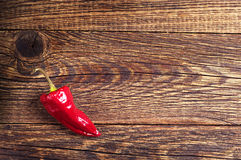 Red hot peppers Stock Photos