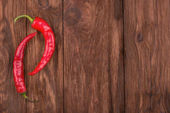 Red hot peppers Royalty Free Stock Images