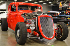 Red Hot Rod Stock Image