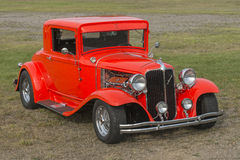 Red hot rod Stock Images