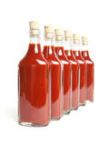 Red hot sauce Stock Image
