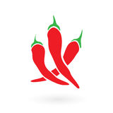 Red Hot Siracha Chilis Stock Photo