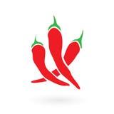 Red Hot Siracha Chilis Stock Photo