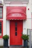 Red Hotel Door Royalty Free Stock Image