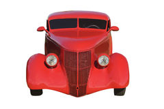 Red hotrod front Royalty Free Stock Photo