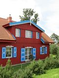 Red house Royalty Free Stock Photography