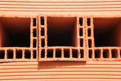 Red house Brick. Stock Photo