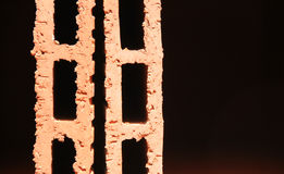 Red house Brick. Royalty Free Stock Photography