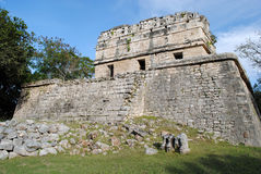 The Red House, Chichen Itza Royalty Free Stock Photos
