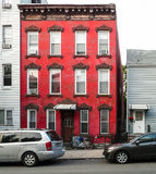 Red house at Greenpoint Stock Photography