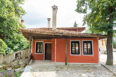 Red house in Koprivshtitsa, Bulgaria royalty free stock photography