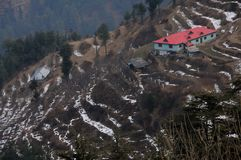 Red House at Kufri near Shimla, India