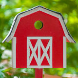 Red House Mailbox Royalty Free Stock Image