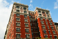 Red House in New York Royalty Free Stock Photography