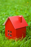 Red house Royalty Free Stock Images