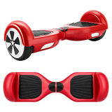 Red hover board Royalty Free Stock Images