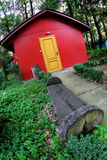 Red hut Royalty Free Stock Photo