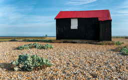 Red Hut at Rye in Sussex Royalty Free Stock Photos