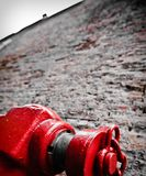 Red Hydrant Royalty Free Stock Photos