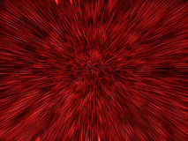 Red Expanding Explosion Royalty Free Stock Photo