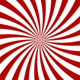 Red Hypnosis Spiral Pattern. Optical illusion. Stock Photos