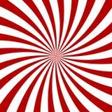 Red Hypnosis Spiral Pattern. Optical illusion. Vector illustration stock illustration