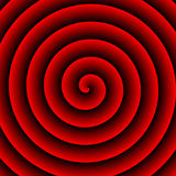 Red Hypnotic Background Stock Photos