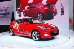 Red Hyundai Stock Image