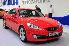 Red Hyundai Genesis Royalty Free Stock Image