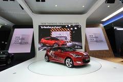 Red Hyundai Velaster Stock Images