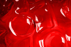 Red ice background Royalty Free Stock Photos