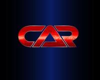 Red icon car Stock Photos