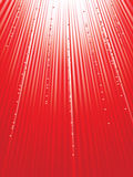 Red ight with hearts. Royalty Free Stock Photos