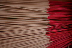 Red Incense sticks Royalty Free Stock Photos