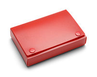 Red Index Card Holder Stock Photos