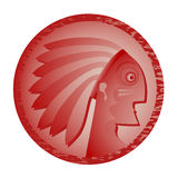 Red indian Royalty Free Stock Photography