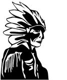 Red Indian Royalty Free Stock Photo