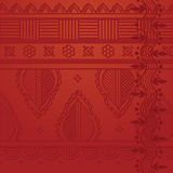 Red indian background Stock Photo