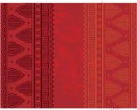 Red Indian henna grunge background Stock Photos