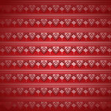 Red Indian henna pattern wallpaper Stock Photo