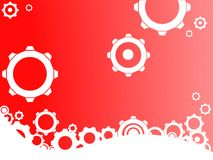Red Industrial background Royalty Free Stock Photography