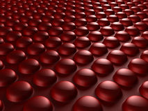 Red Industrial Metallic Shiny Background. 3d Render Illustration Stock Photo
