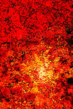 Red inferno glass Royalty Free Stock Images