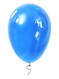 Blue inflatable air balloon Stock Image