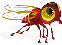 Red insect Stock Photo
