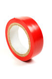 Red insulating tape. Stock Photography